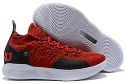 2aeef39b31b6 Kd 11 Shoes Australia - 2019 New KD 11 EP White Orange Foam Pink Paranoid  Oreo
