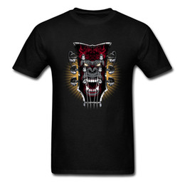 $enCountryForm.capitalKeyWord NZ - Monkey King Guitar Head Stock All Cotton Tops T Shirt for Men Summer T-Shirt Gift Coupons Round Neck Clothing Shirt Short Sleeve