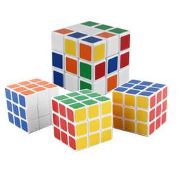 5.5cm Mini 3x3x3 Puzzle cube Magique Rubik Cube Jeu Rubik Learning Jeu éducatif Rubik Cube Bon Cadeau Jouet Décompression jouets