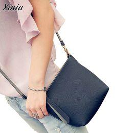 Wholesaler Designer Handbags Canada - Mance Simple Designer Fashion Women Bag PU Leather Handbag Cross Body Shoulder Messenger Mini Bag Bolsa Feminina Best Gifts