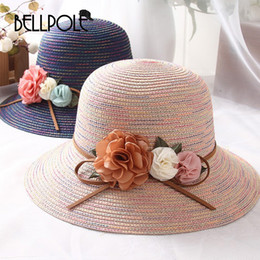 fd0dd1135a3 Top Fashion Summer Hats For Women Straw Floral Casual Chapeu Feminino Straw  Hat Sombreros Mujer Verano Girls Hats Hatsun Hat