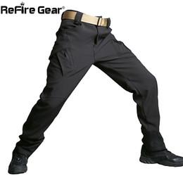 $enCountryForm.capitalKeyWord NZ - New Soft Shell Heat Reflection Tactical Pants Men Waterproof Shark Skin SWAT Cargo Army Pants Winter Casual Trousers
