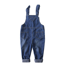 9e379fe8db1a Grandwish New Kids Denim Overalls Children Jumpsuit Jeans Pants Boys and  Girls Casual Jeans Pants for Toddler Girl 24M-10T