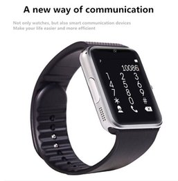 Bluetooth Smart Watch Sim Australia - GT08 Bluetooth Smart Watch Wearable with SIM Card Slot NFC Health Watchs for Android and IOS Apple iphone Bracelet Smartwatch