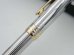 Wholesale office Writing Supplies gift stainless steel golden 163 series luxury gift Metal Ballpoint Pens