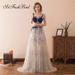 $enCountryForm.capitalKeyWord NZ - Elegant Girls Dress O Neck With Beading See Through Top A Line Tulle Long Party Formal Evening Dresses for Women Prom Dress Gowns