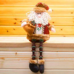 $enCountryForm.capitalKeyWord NZ - Christmas Decorations Santa Claus Sitting Porcelain Snowman Christmas Ornamen enfeites de natal