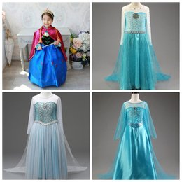 dc4b7cd03d girls snowflake dress children cosplay party prom skirts kids costume  dresses with long cape for halloween and christmas makeup
