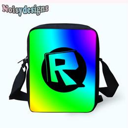 Noisydesigns Roblox Games Printing Girls Children Mini Book Bags Unisex students  Boys Fashion messenger bag School Bags Handbags 51dadb2e00e7d
