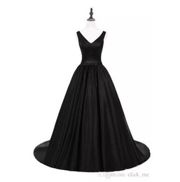 $enCountryForm.capitalKeyWord Australia - Real Images Black Prom Dresses Long Criss Cross Straps Satin Cheap Cocktail party Gowns Sexy Back Count Train Evening Dress Formal Vestidos