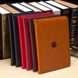 Vente en gros Motif Litchi Flip en cuir Smart Cover Case pour iPad Pro10.5 avec support de support pliant Folio pour iPad Pro 12.9