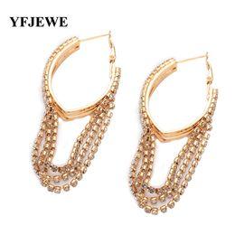 China Fashion Jewelry Elegant Earrings for Women anti-allergic female hoop earrings vintage design long tassel earring E103 cheap vintage copper hoop earrings suppliers
