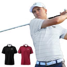 $enCountryForm.capitalKeyWord Australia - 2018 PGM new Sportswear Quick Dry breathable golf shirt Men training Sport POLO stripe T Shirts Short sleeve
