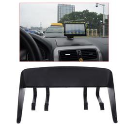 Visor gps online shopping - New Pc Universal inch Auto Car GPS Navigator Visor Sunshade Sun Shade Hood Shield Protective Case High Quality