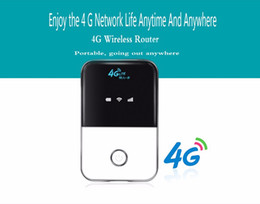 4g router unlocked UK - 4G LTE Wifi Router 150Mbps Mobile Wireless Hotspot Car Mifi Unlock Modem Broadband Dongle 3G 4G Wi-Fi Router With Sim Card Slot