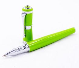 $enCountryForm.capitalKeyWord NZ - Fuliwen 2051 Metal Rollerball Pen, Fresh Fashion Style Fine Point 0.5mm Beautiful Green for Office Home School, Men and Women