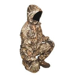 $enCountryForm.capitalKeyWord UK - 1Suit Waterproof Realtree Max4 Waterfowl Camo Hunting Suit Realtree Camouflage Hoodies Jacket trousers Pants Fishing Clothing Hunter Uniform
