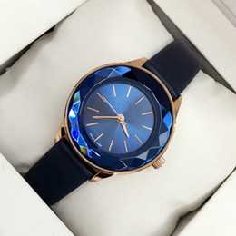 Brand quartz stainless steel leather online shopping - 2018 Brand Fashion women genuine leather Luxury wristwatch Female clock japan movement watch Relojes De Marca Mujer new model