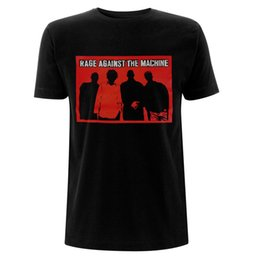 tee machine Australia - Rage Against The Machine Tom Morello Outlines Oficial Camiseta Para Hombre T Shirt Funny T-shirt Men Print Tee Shirts