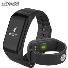 COXANG F1 Smart Bracelet Passomètre Activité de la pression artérielle Fitness Tracker Bande intelligente Moniteur de fréquence cardiaque Wearfit Bracelet en Solde