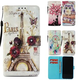 Lg diamond waLLet online shopping - Luxury Phone Case for iPhone X XS Max XR PU Wallet Cases Bling Diamond Cover for Samsung Galaxy Note