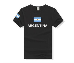 $enCountryForm.capitalKeyWord UK - National Flag Tee Argentina T-Shirt Hip hop Skate Tshirt Nostalgic Style Summer Star Players Maradona Messi Fans Running Jerseys For Men
