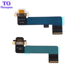 ipad mini charging connector Australia - NEW For iPad mini 1 Dock Connector Charging Port Flex Cable black and white Free shipping