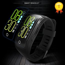 $enCountryForm.capitalKeyWord NZ - 2018 New arrival GPS smart band wristband heart rate monitoring 0.96 inch IP68 professional waterproof 230mAh smart bracelet