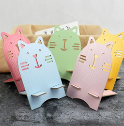 Cute Cell phone stands online shopping - Universal Cell Phone Multifunction Super Cute Totoro Wooden Mobile Phone Holder Amplifier Mobile Bracket Lazy Stand