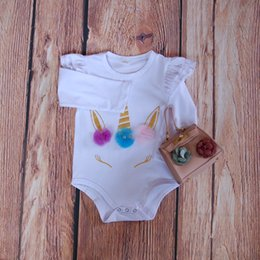 Discount diy summer clothing - Monogrammed Baby Clothes Unicorn Babe Romper Newborn Baby Clothing Monogram Blank Onesie DIY Baby Shower Gift Birthday U