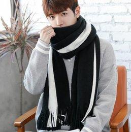 $enCountryForm.capitalKeyWord Australia - Scarves, men's winter, Korean version, jog, short, new men's scarves, knitted wool, long knitted young students' scarves.