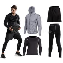 $enCountryForm.capitalKeyWord NZ - Vansydical 2018 Sport Suit Mens Sport Running Suits Running Compression Homme Gym Training Running Tracksuits Men Gym Clothing Y1890402