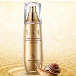 Snail care whitening online shopping - BIOAQUA Snail Whitening Essence Liquid Hyaluronic Acid Collagen Moisturizing Anti Aging Wrinkle Firming Repair Face Care ml