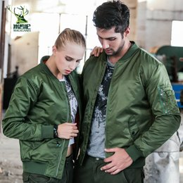 Army wind jAcket men online shopping - Fashion Bomber Jacket Men Pilot with Zipper Army Green Thin Wind Breaker Jacket Men Casual Hip Hop New Designs