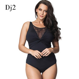 e3fd79c5d7616 Discount plus size thong swimsuits - Wholesale-Brand Swimwear Women 2017 One  Piece Black Sexy