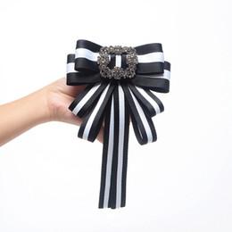 $enCountryForm.capitalKeyWord Australia - Women Fashion Handmade Satin Ribbon Bow Tie Necktie Bow-knot Shirt Tie Clips Brooch Pins Shirts Collar Dragonfly Jewelry