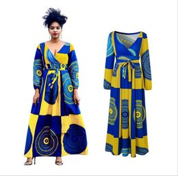 1adf7ae1d6b8 2018 Sale African Dress Autumn And Winter Digital Printing