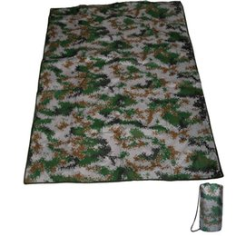 Discount large outdoor camping mats - Outdoors Camouflage Pad Large Size 190*150CM Oxford Cloth Picnic Moistureproof Mat Camping Picnic Blanket