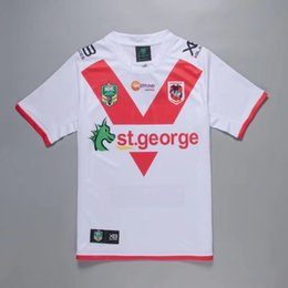 george t shirt 2018 - 2018-19 NRL Rugby Jerseys St. George Dragons home Rugby Jerseys t-shirt new arrival high quality jersey free shipping si