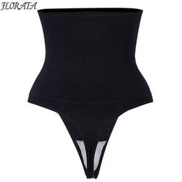 f1c5c58f36 Body Shaper Slimming High Waist Firm Control Thong Back Butt Lifter Panties  Shapewear Slim Belts for Women Corset Waist Trainer