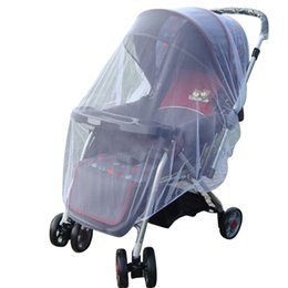 infant stroller cover 2018 - Baby Infant Kids Stroller Pushchair Outdoor Mosquito Insect Net Mesh Buggy Cover LZ24 discount infant stroller cover