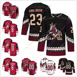 2018 2019 New Third Men Women Youth Ice Hockey Arizona Coyotes Jersey 6  Jakob Chychrun 9 Clayton Keller 11 Brendan Perlini ff2f96bb7
