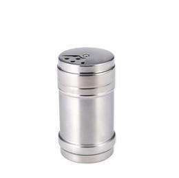 $enCountryForm.capitalKeyWord UK - Stainless Steel Spice Shaker Pepper Salt Bottles Condiment Seasoning Container Kitchen Tool LX2218