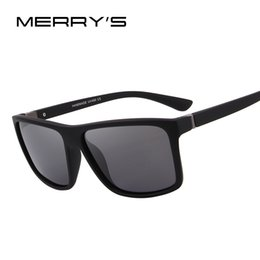 bae57deb51 MERRY S DESIGN Men Polarized Sunglasses Fashion Male Eyewear 100% UV  Protection S 8225