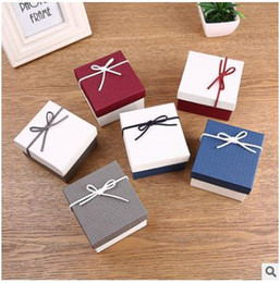$enCountryForm.capitalKeyWord Canada - New bowknot knot display packaging gift boxes jewellery box for bracelets bangle watches boxes good quality Jewelry Boxes