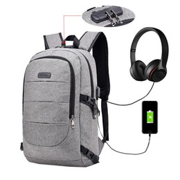 26d0e16b4736 Bags Lock Code UK - Vbiger Unisex Canvas Backpack Anti-theft Daypack 14