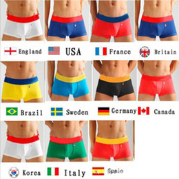 2eb28111b08 Flag underwear online shopping - Mens Underwears Mens Designer Underpants  Boxers Flags Color UK USA CANADA