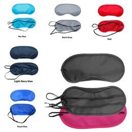 cf3c911230a Hot 16 Colors Sleep Masks Sleeping Rest Eye Mask Eyeshade Cover Eye Patch  Blindfold Travel Eyepatch Eye Care Beauty Tool