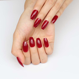 Dark Red Acrylic Nails Online Shopping Dark Red Acrylic Nails For Sale