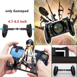 gaming controller for mobile 2019 - PUBG Mobile Phone Shooter Controller Handle Grip Gaming Gamepad Fire Button Handle discount gaming controller for mobile